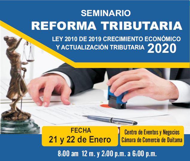 Seminario Reforma Tributaria 2020